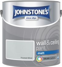 Johnstones Frosted Silver Coloured Emulsion